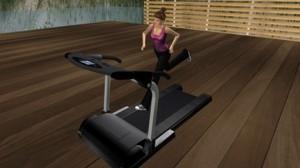 Second Life Treadmill